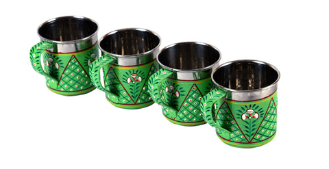 KAUSHALAM TEA CUPS SET OF 6: Mughal