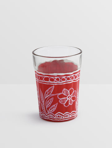 Kaushalam Tea Glass set of 6: TRI  colors