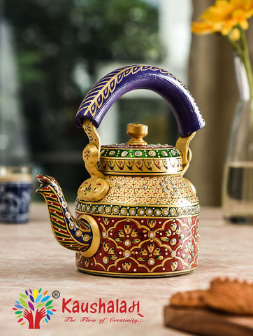 Hand Painted Kettle : Glamor