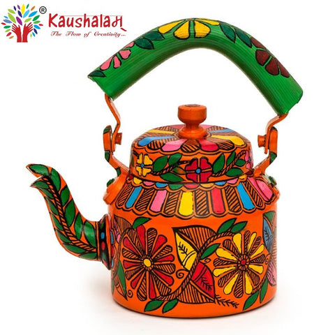 Hand Painted Kettle : Circus