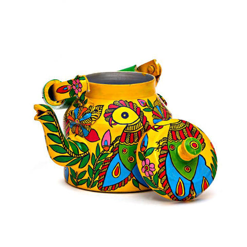 Kaushalam Tea Kettle: Parrot