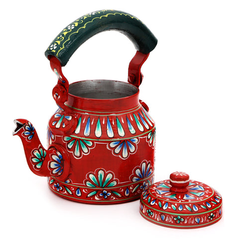 KAUSHALAM TEA KETTLE: ORANGE DELIGHT II
