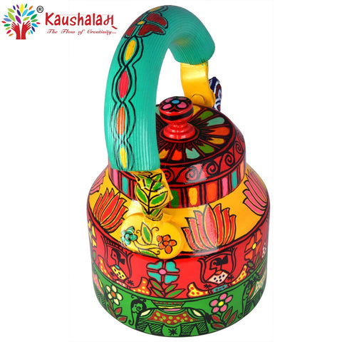 Kaushalam Tea Kettle: Multicolored