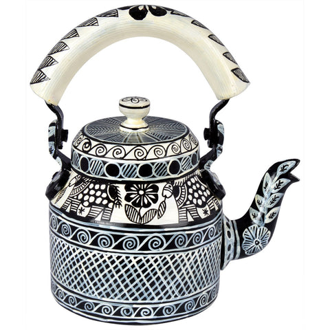 Kaushalam Tea Kettle: B & W 3