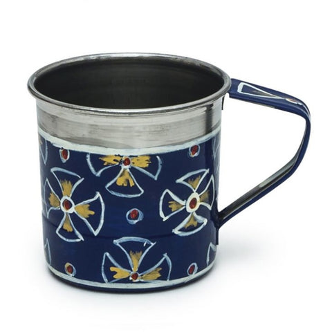 KAUSHALAM TEA SET: ROYAL BLUE