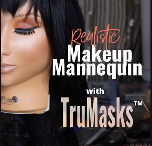 Makeup Mannequin w/ TruMasks™ (Full Set)