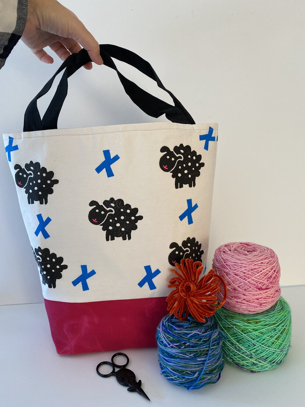 Tote - S - Sheepies and crosses