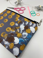 Load image into Gallery viewer, Notion Bag - Grey with gold dots