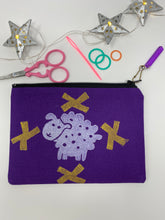 Load image into Gallery viewer, Notion bag - Sheepie with gold crosses