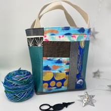 Load image into Gallery viewer, Tote - Mini, Ocean vibes