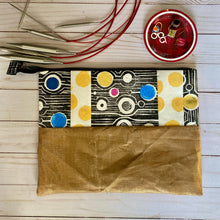 Load image into Gallery viewer, Block printed needle pouch,