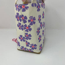 Load image into Gallery viewer, Tote - Mini - Small lavender flowers