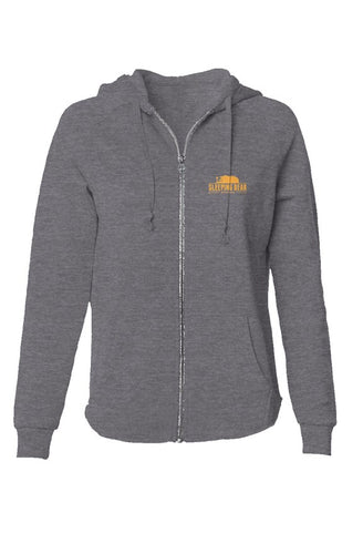 Sleeping Bear Lightweight Zip Hoodie - Women's