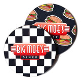 Big Moe's Drink Coasters- different designs