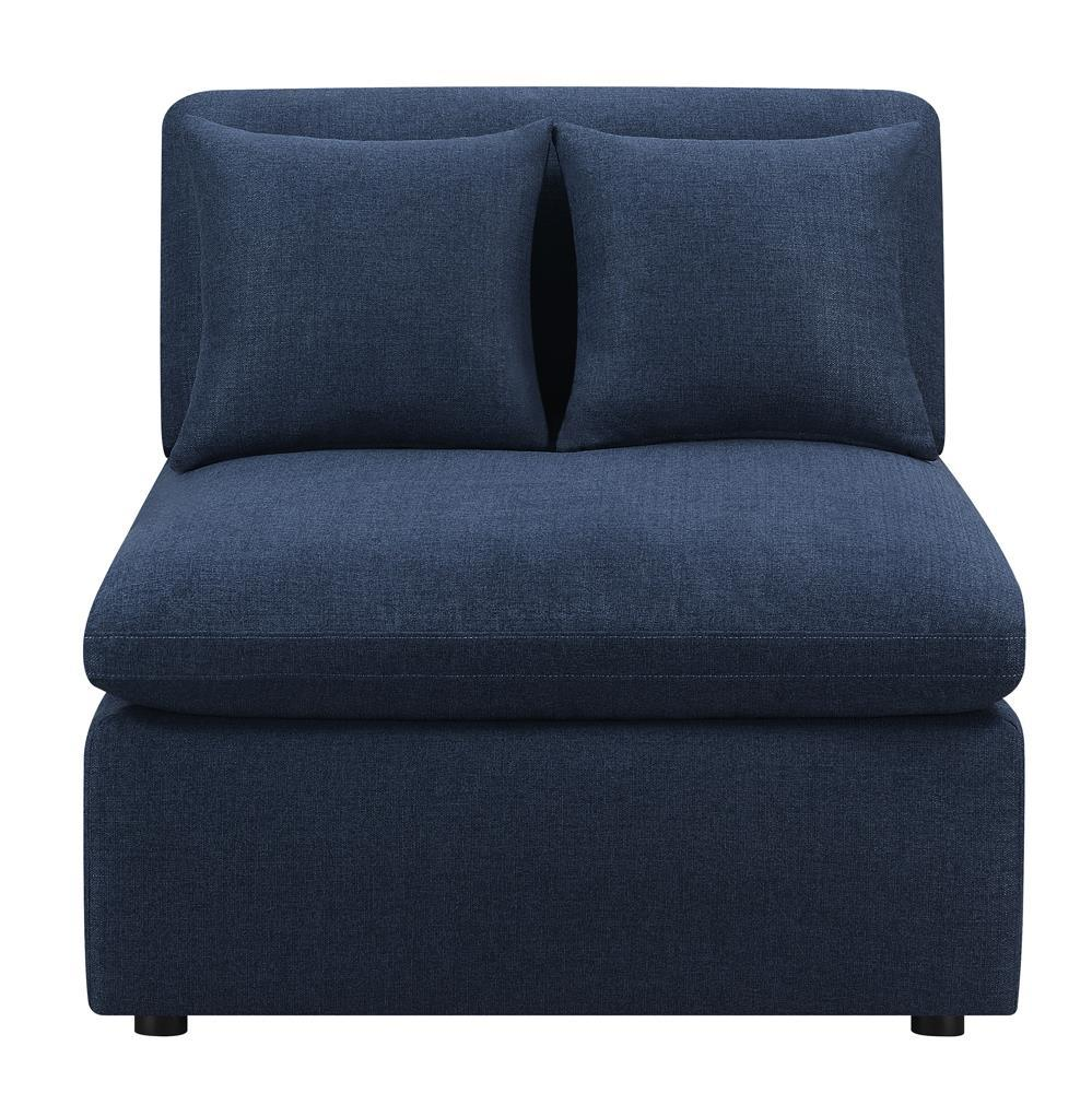 Armless Chair (Midnight Blue)