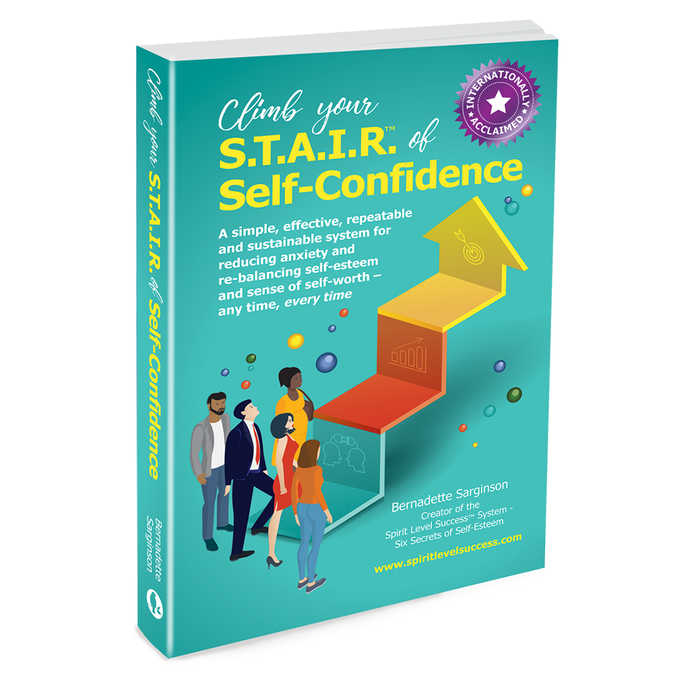 Climb your S.T.A.I.R. of Self-Confidence