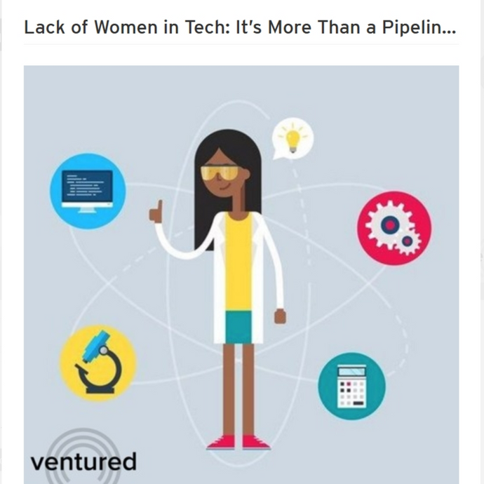 Lack of Women in Tech: It's More Than a Pipeline Problem
