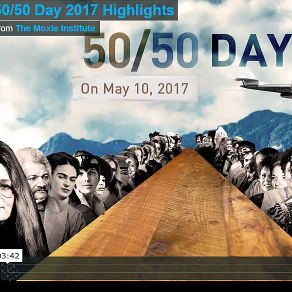 Sign up for 50/50 Day 2018 - It's official: 50/50 Day will be an annual event! 50/50 Day 2018 will be on Thursday, April 26