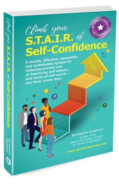 Climb your S.T.A.I.R.™ of Self-Confidence