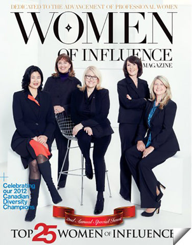 Celebrating Women of Influence 2012 Canadian Diversity Champions - @SitAtTheTable on page 58
