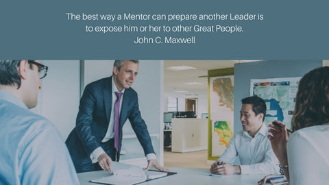 """The best way a Mentor can prepare another Leader is to expose him or her to other Great People."" ~John C. Maxwell #quote"