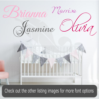 Personalized Children's Name Decal