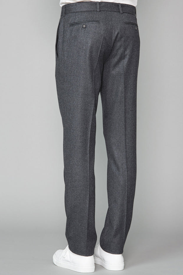 Paul Pants Italian Worsted Wool Flannel