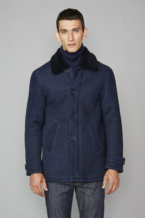 Deck Coat Italian Shearling