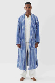 Classic Bathrobe Striped Marseille