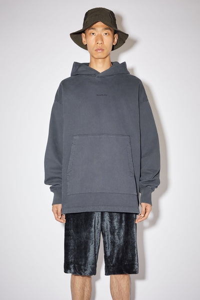 Hooded sweatshirt slate grey