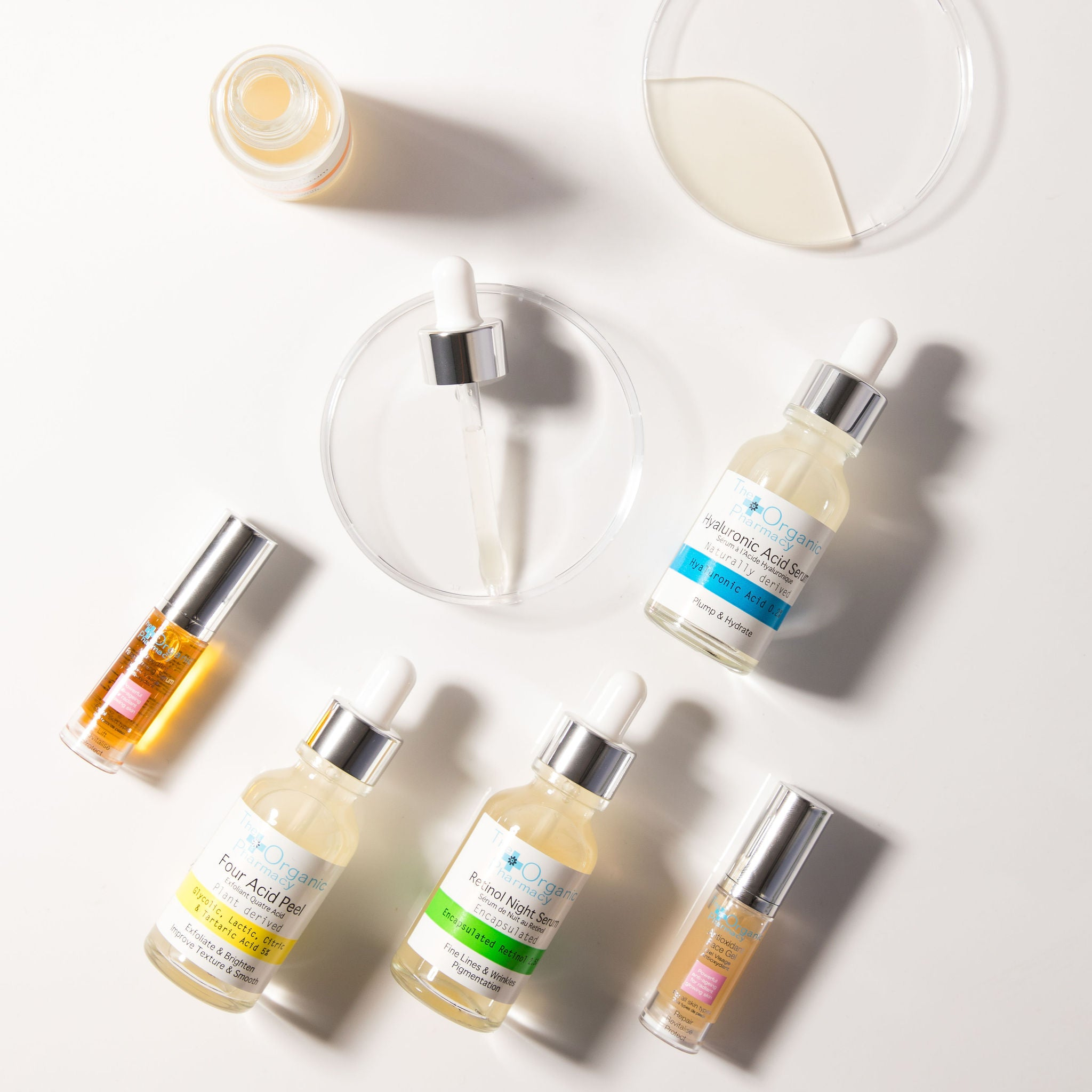 The Organic Pharmacy skincare available at Nourish Clean Beauty