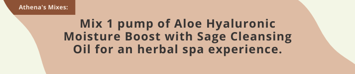 Monastery Sage Cleansing Oil and Aloe Moisture Boost
