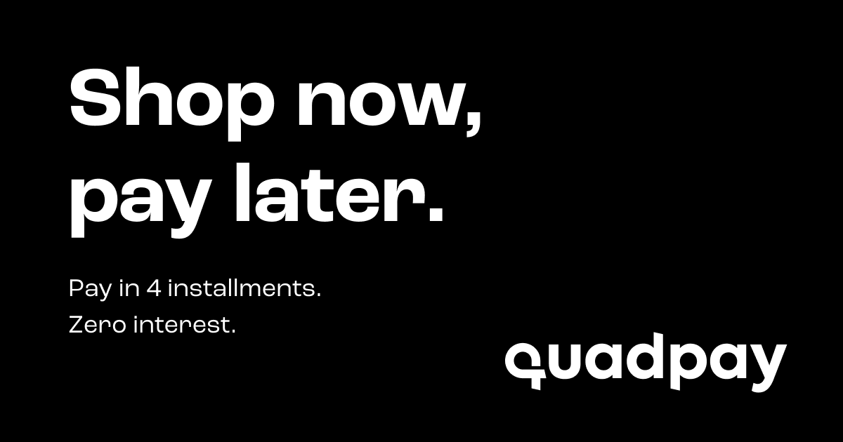 Shop now, pay later with Quadpay at Nourish Clean Beauty
