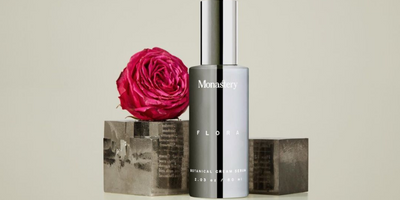 monastery flora cream serum available at nourish clean beauty