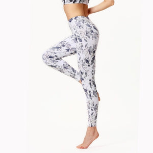 Flower feather Leggings - Welina ONLINE STORE