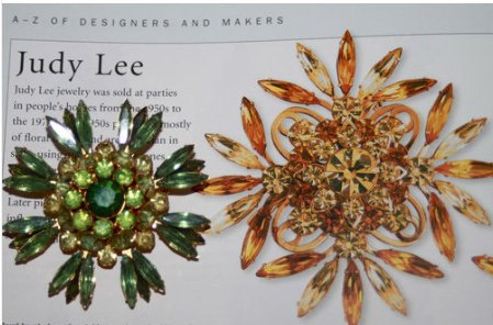 Vintage Demi Parure Judy Lee - Vintage Lane Jewelry