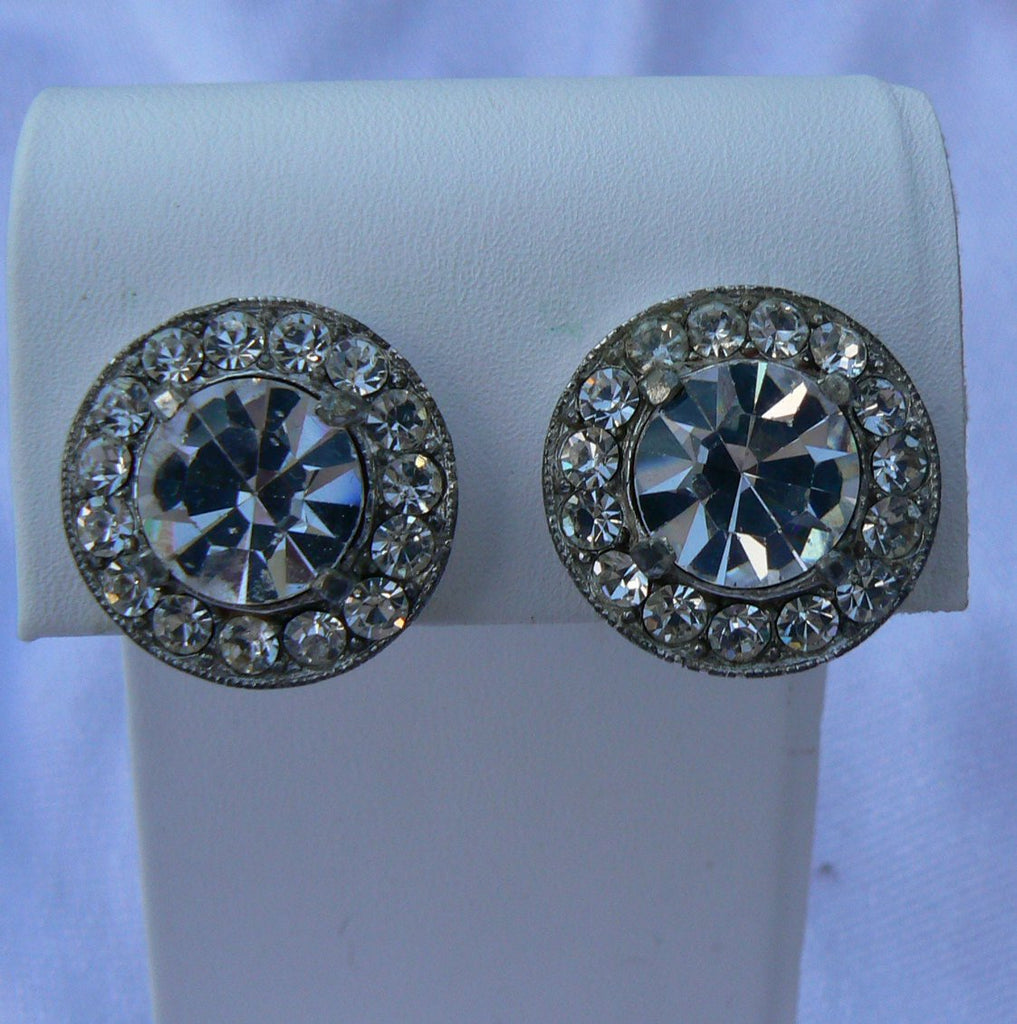 Eisenberg Ice Earrings - Vintage Lane Jewelry