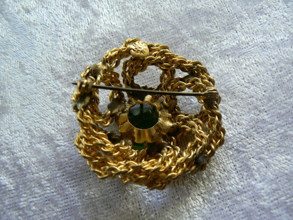 Lovely Spanish Brooch - Vintage Lane Jewelry
