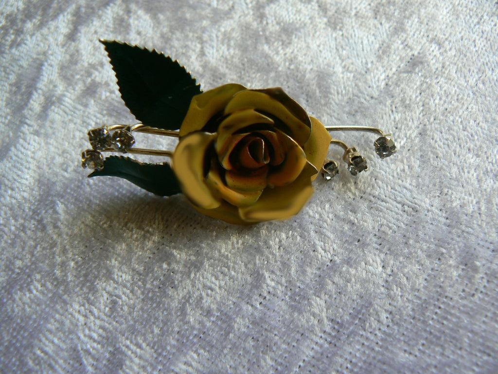 Hand Painted Flower - Vintage Lane Jewelry