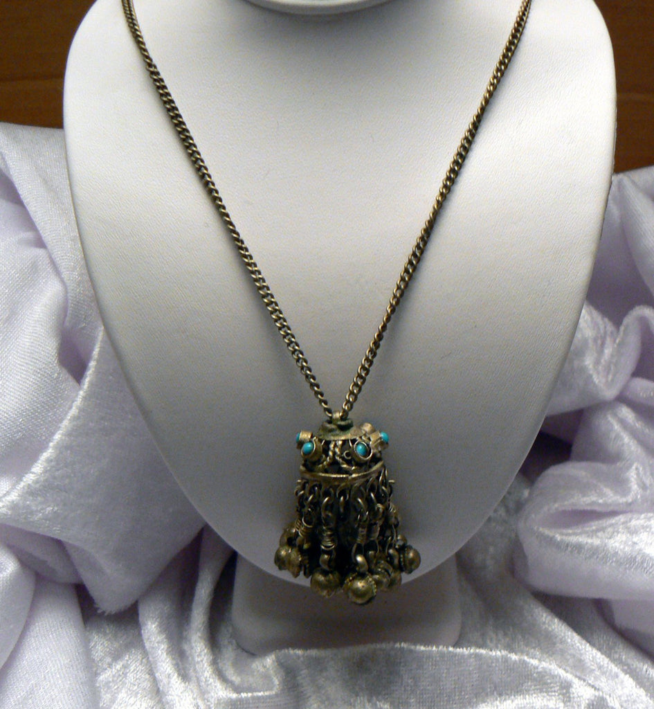Belly Dancer Necklace - Vintage Lane Jewelry