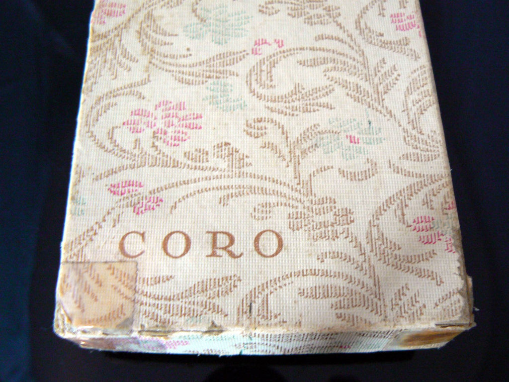 Coro Ab Demi Parure In Original Box - Vintage Lane Jewelry