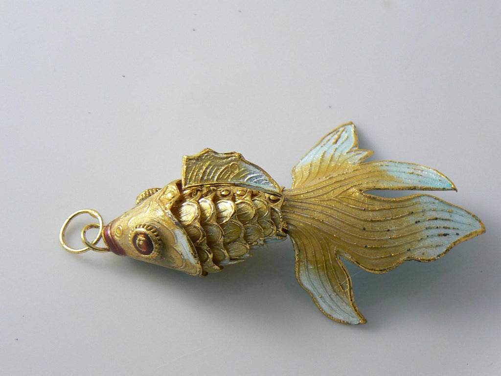 polymer pendant art on deviantart clay fish by japan necklace koi crystarbor