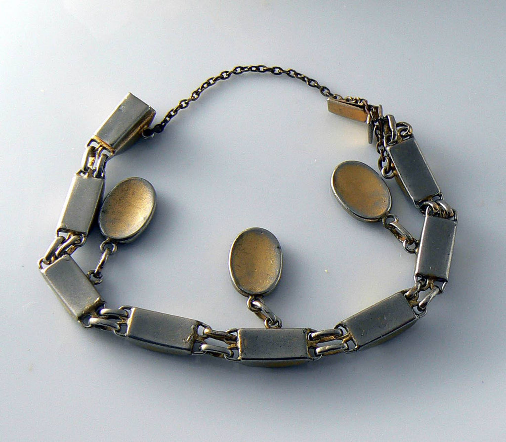 Vintage Damascene Bracelet - Vintage Lane Jewelry