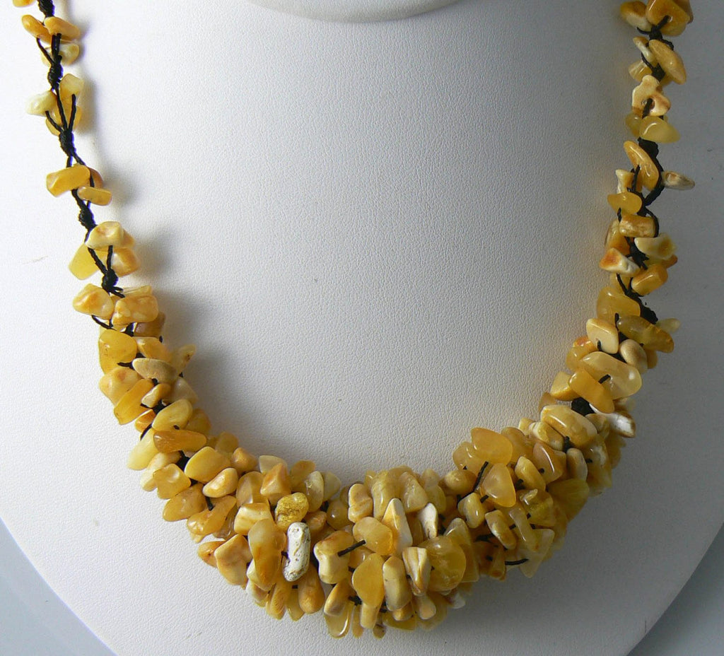 Genuine Vintage Baltic Amber Necklace - Vintage Lane Jewelry