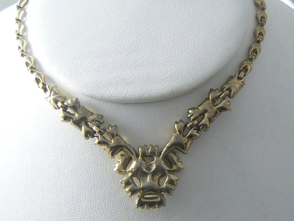 Vintage Golden Yellow Bogoff Necklace - Vintage Lane Jewelry - 3