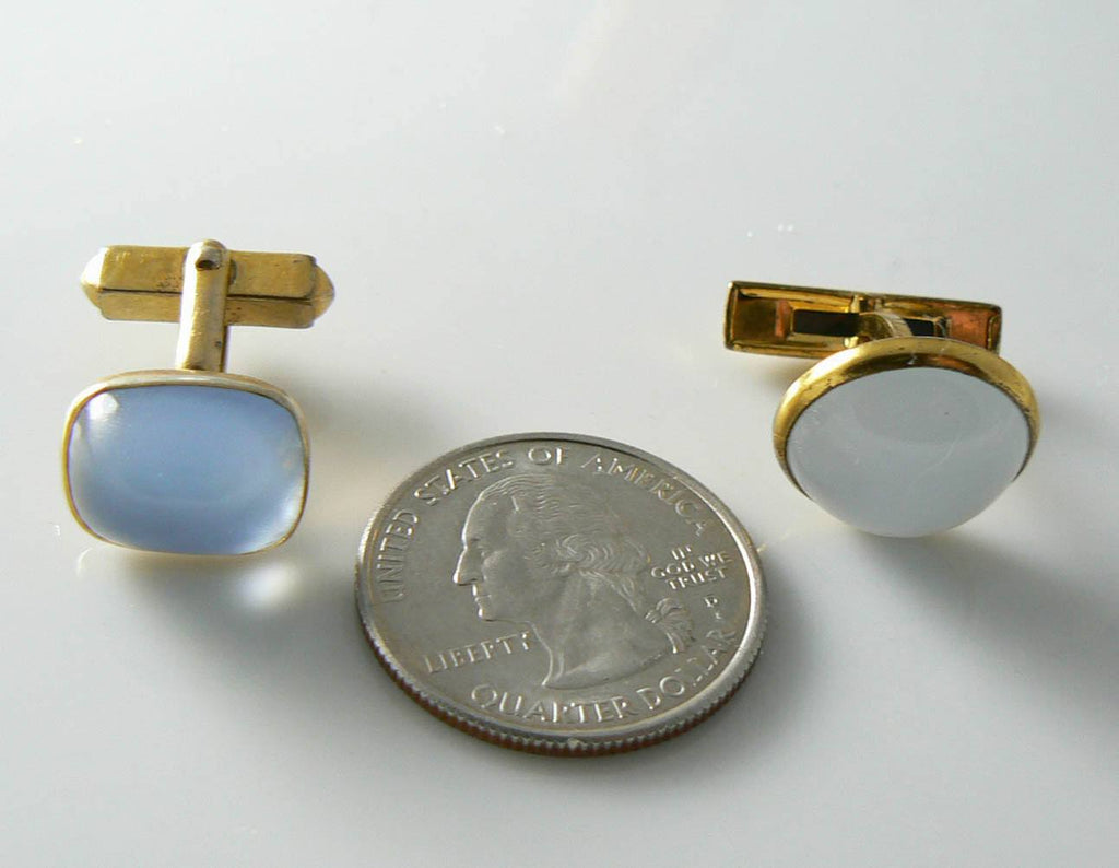 Vintage Moonstone Cufflink Lot - Vintage Lane Jewelry