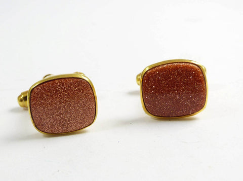 Old Russian Soviet USSR Genuine Baltic Amber Cufflinks And Tie Clip