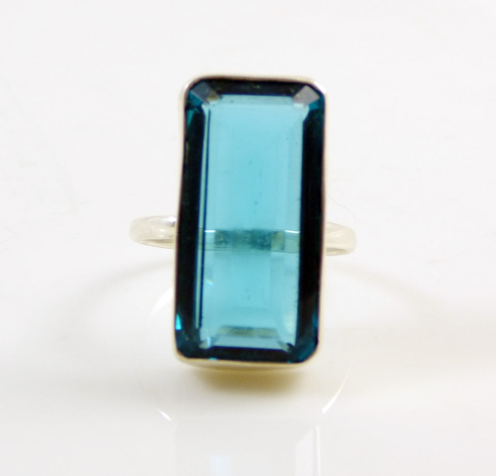 London Blue Topaz 925 Sterling Silver Ring - Vintage Lane Jewelry