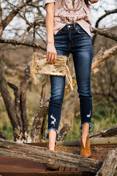 Sweetheart Cropped Jeans