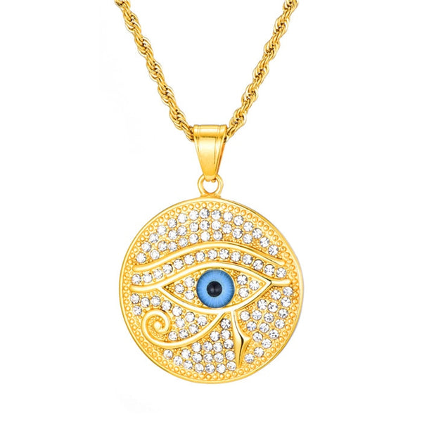 EVIL EYE PENDANT - GOLD